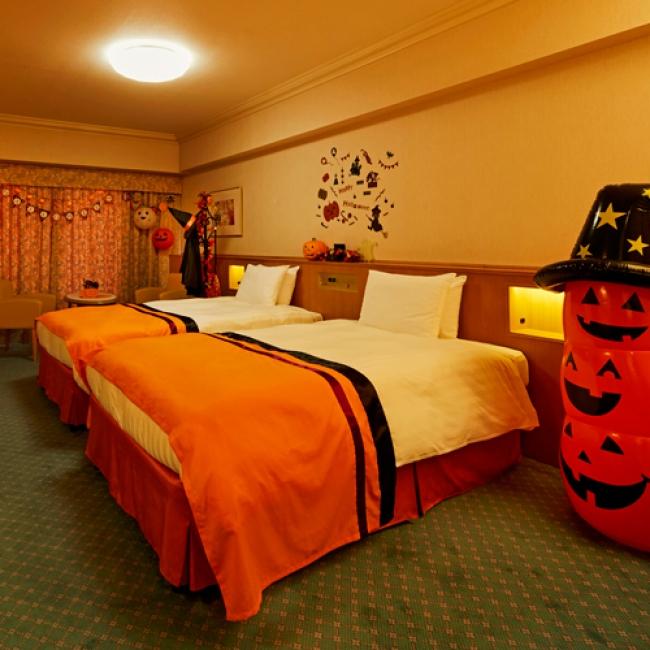 【2位:東京ベイ舞浜ホテル クラブリゾート】ハロウィーンデコレーションルーム