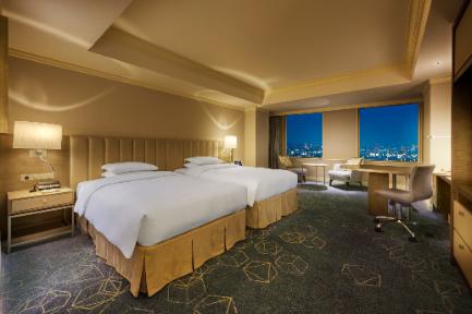 名古屋マリオットアソシアホテルの客室一例