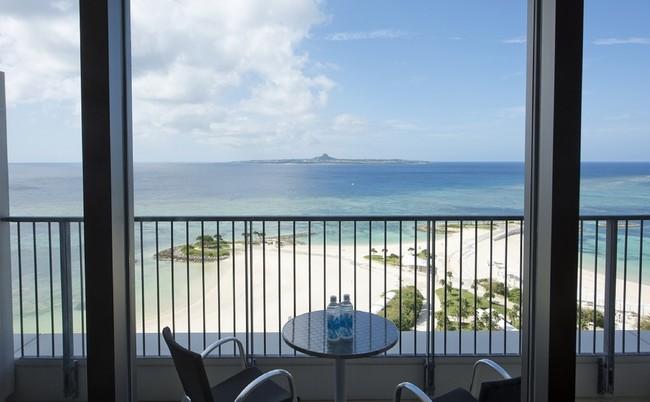1位「ホテルオリオンモトブリゾート&スパ」 客室バルコニーからの眺め(一例)