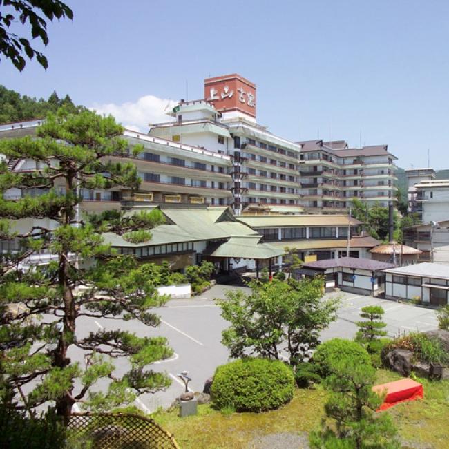 【2位:かみのやま温泉 日本の宿 古窯】外観