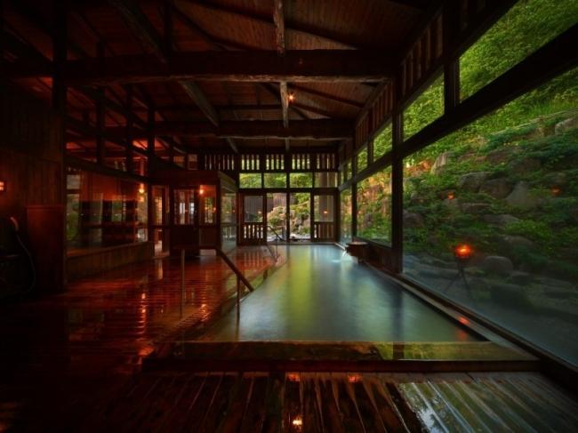 2位: 山形県 蔵王温泉 蔵王国際ホテル 八右衛門の湯
