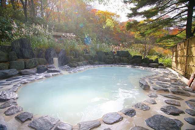 1位: 福島県 野地温泉ホテル 鬼面の湯