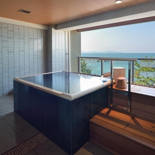 【3位:皆生温泉 皆生シーサイドホテル 海の四季】貸切風呂