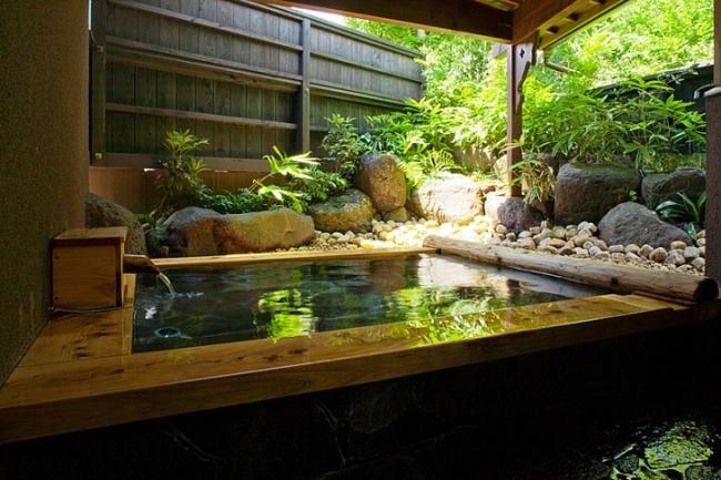 【2位:由布院別邸 樹】客室専用風呂