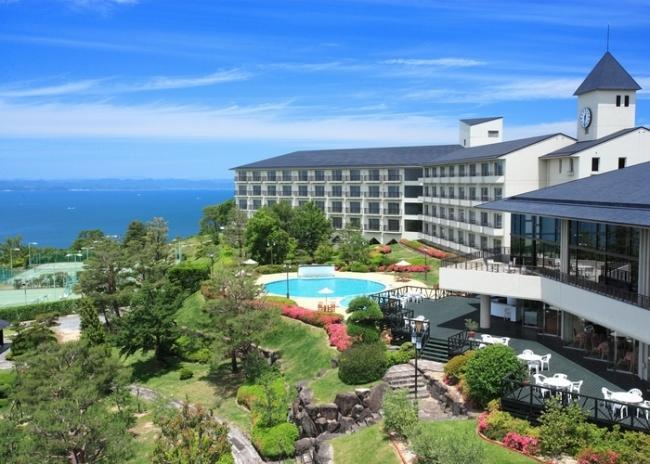 【3位:小豆島温泉 リゾートホテルオリビアン小豆島】外観