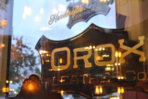 OROX LEATHER Co. 店舗概観