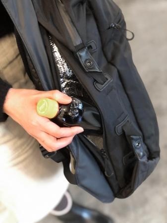 保温・保冷機能付きポケット