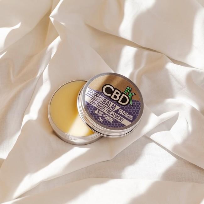 CBD配合バームタイプでゆったり、極上のセルフケアタイム