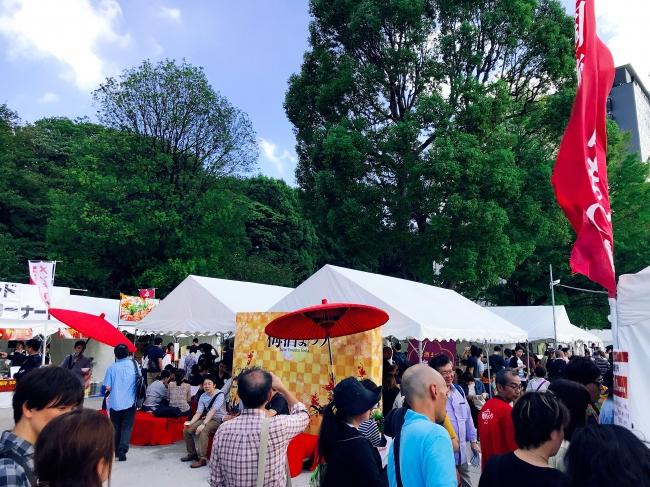 上野公園での梅酒まつり2018