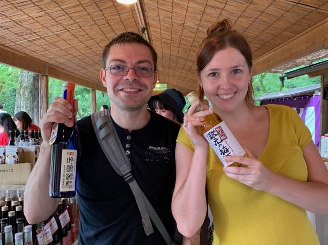 外国人にも人気の梅酒