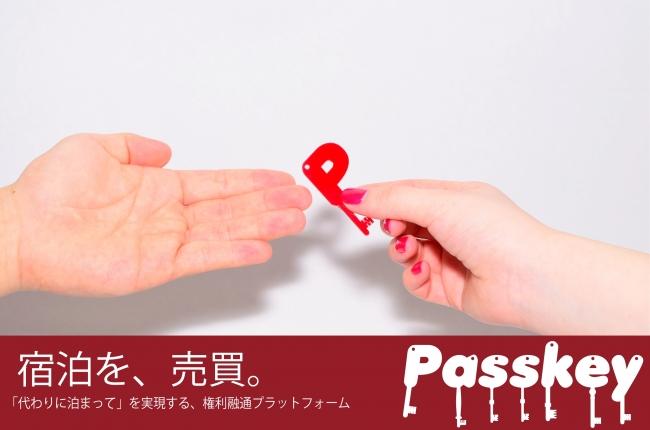Passkeyサービスイメージ