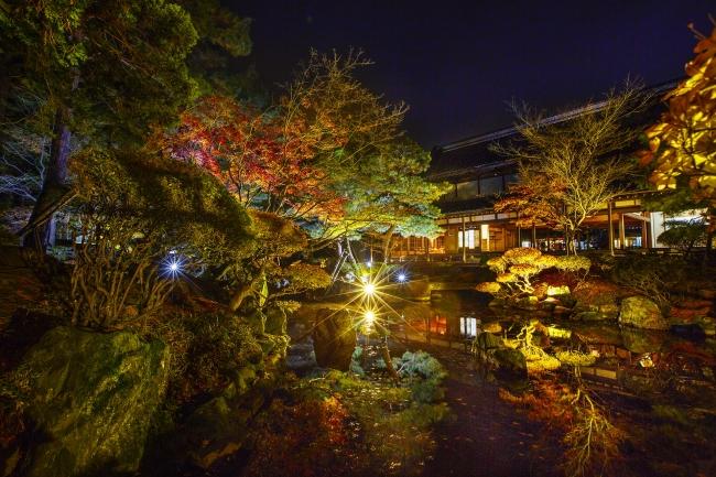 北方文化博物館ライトアップ
