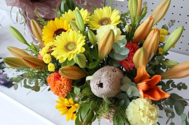 市内産の花々2.