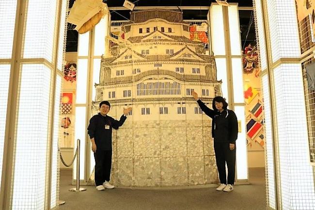 姫路城の凧