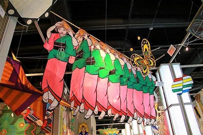 阿波踊りの連凧