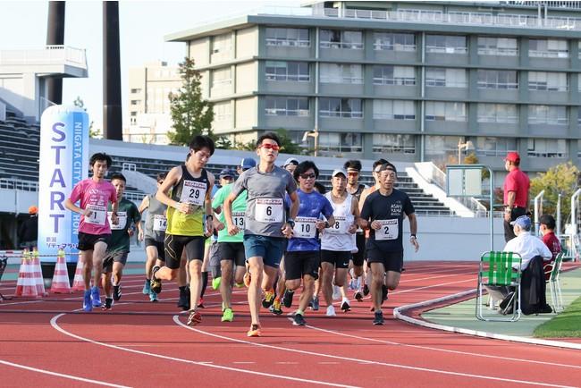 令和2年度実施 10000mタイムトライアル 於:新潟市陸上競技場