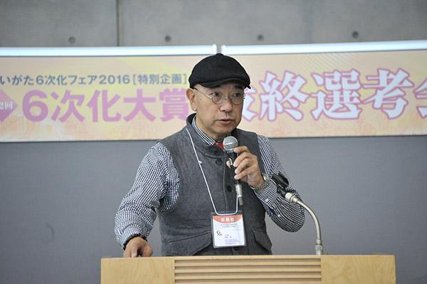 第2回6次化大賞グランプリ (株)ぐらんふぁーむ 代表取締役 阿部 靖氏
