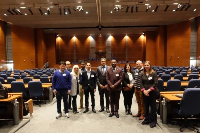 ICAOへの訪問(モントリオール)