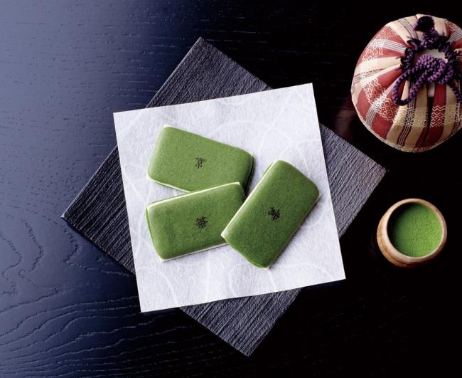 お濃茶ラングドシャ「茶の菓」