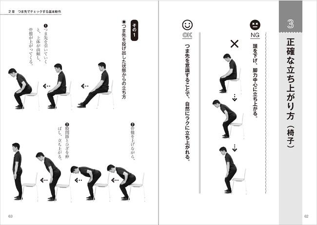 『腰痛ひざ痛が消える つま先の使い方』本文1