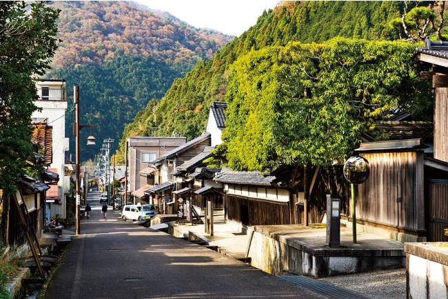 宿場町として栄えた杉の町-鳥取県八頭郡智頭町智頭