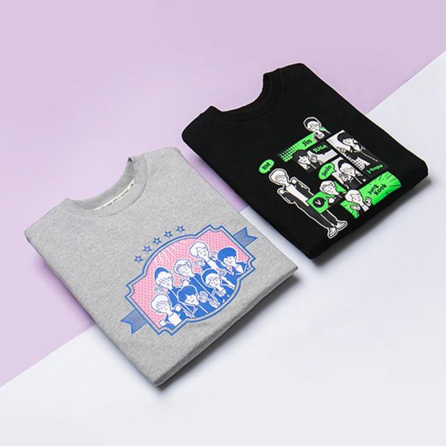 スウェットシャツ(全2種) ¥6,292(税込)