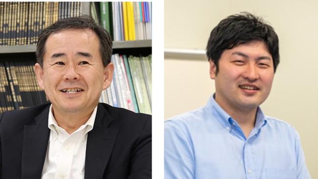 講師の町田修一教授(左)と棗 寿喜特任助教(右)