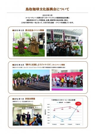 鳥取珈琲文化振興会の活動