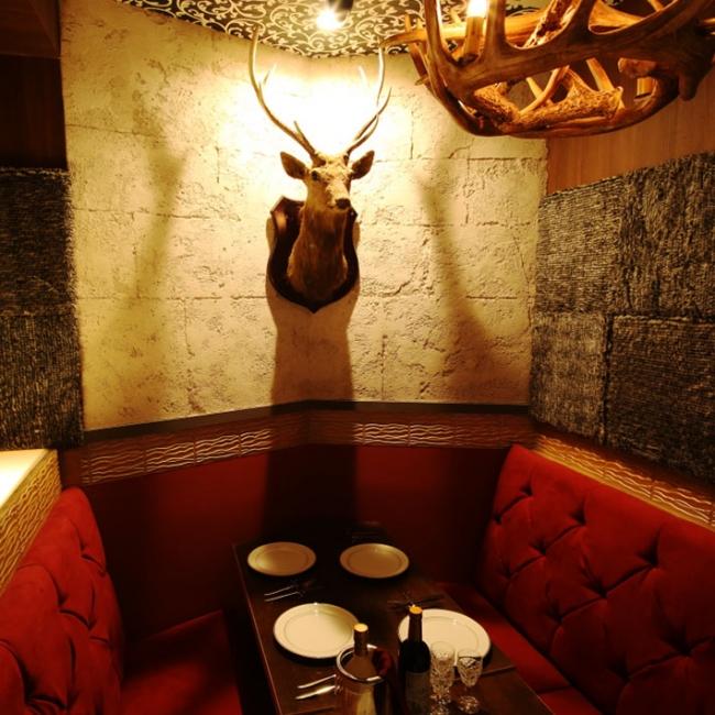 当お城唯一のVIPルーム「野獣の部屋」