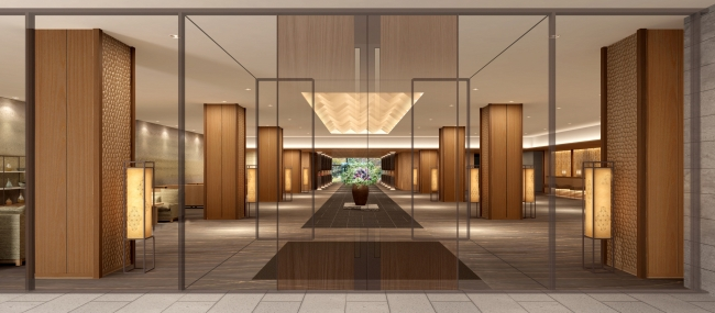 グランドプリンスホテル高輪 エントランス イメージ