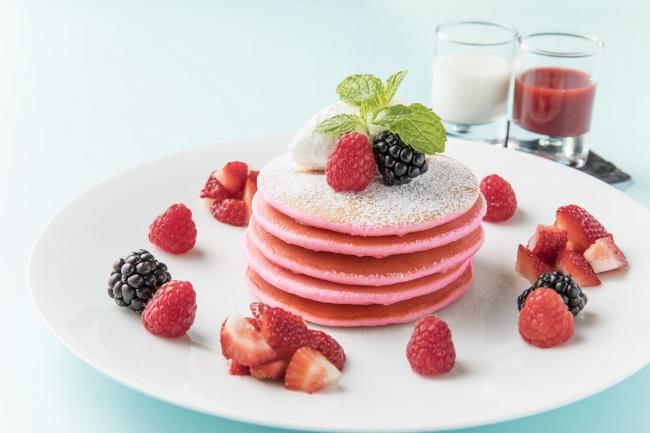 Pink Palace Pancakes