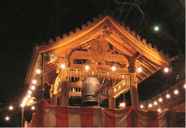 高輪 除夜の鐘 イメージ