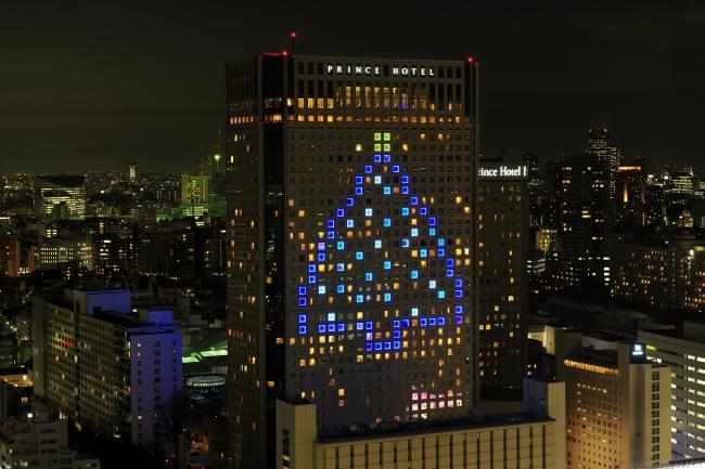 「SHINAGAWA Welcome Tree」※昨年の様子