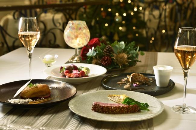 フランス料理 ル・トリアノン クリスマスディナーイメージ(グランドプリンスホテル高輪)