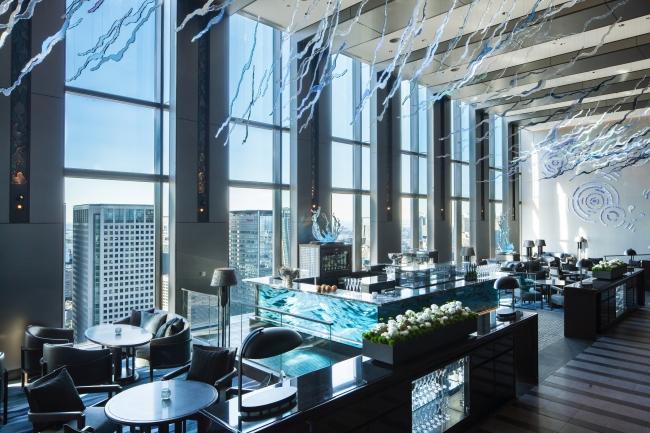 「DINING & BAR TABLE 9 TOKYO」AWA LOUNGE