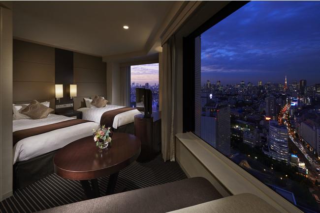 品川プリンスホテル プレミアフロア コーナーツインルーム