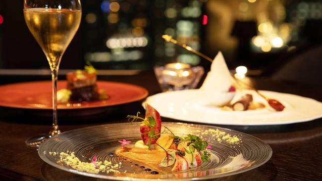 「DINING & BAR TABLE 9 TOKYO」でのクリスマスディナー