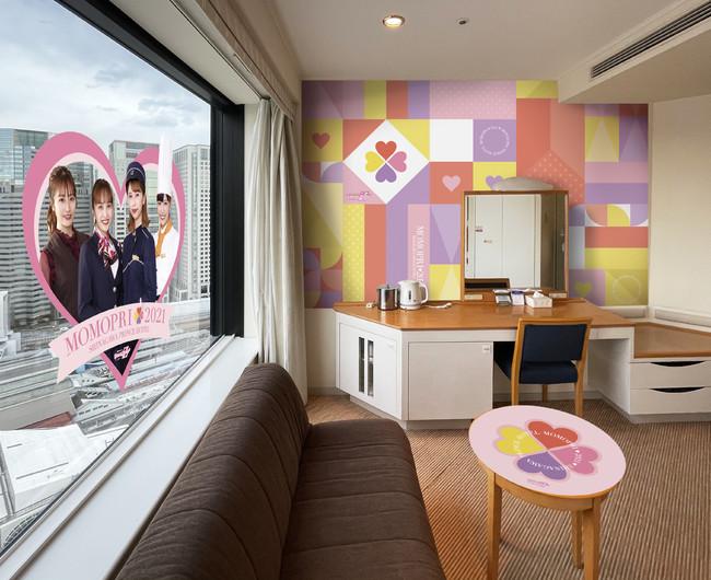 ももクロコラボレーションルームステイプラン 客室(品川プリンスホテル)