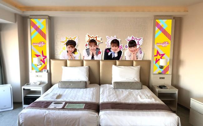 ももクロコラボレーションルームステイプラン 客室(新横浜プリンスホテル)