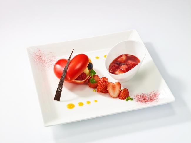とろけるハートのチョコレートドーム イメージ