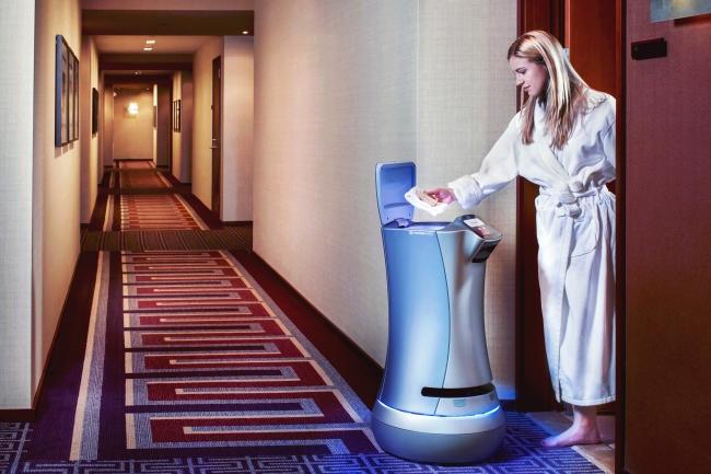 デリバリーロボット「Relay」の運用イメージ