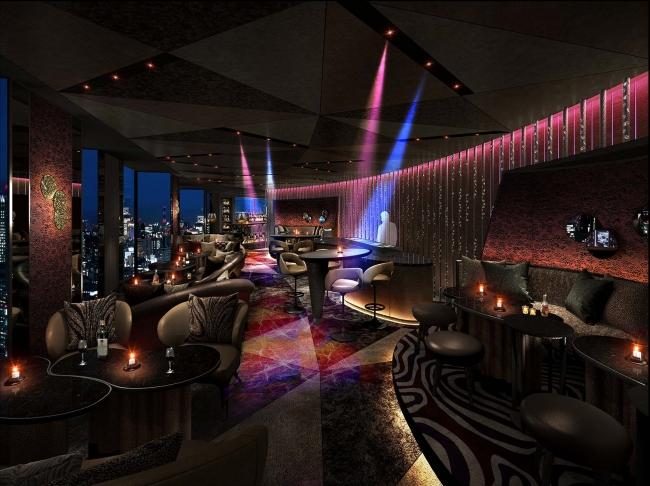 「Dining&Bar TABLE 9 TOKYO」 DJサウンドバー イメージ