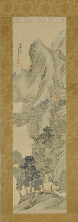 与謝蕪村(1716~1783) [ 山水図 ]