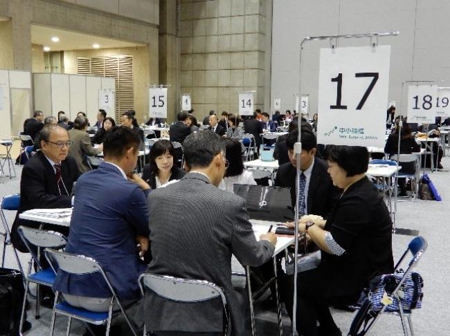 海外CEO商談会in新価値創造展2018風景(2018年11月開催)