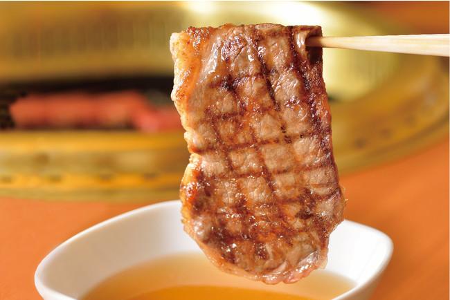 ▲お出汁で食べる京都焼肉