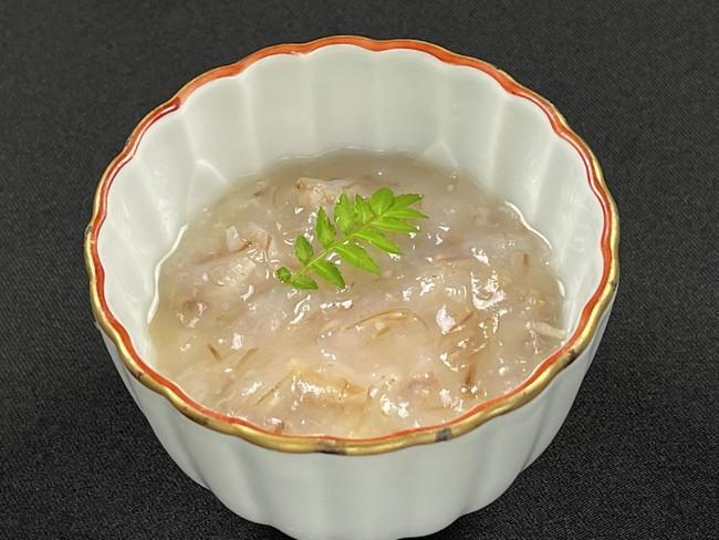 ▲テールスープの茶わん蒸し