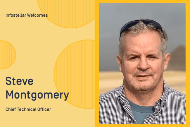 インフォステラ、最高技術責任者に元スウェーデン宇宙公社(SSC)のスティーブ・モンゴメリー氏が就任