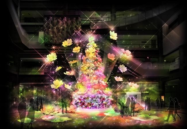 Timeless Blossom  ライトアップショー (ナレッジプラザ)