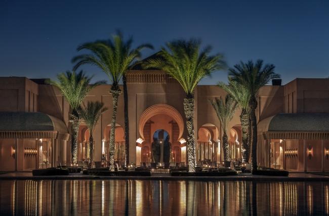 モロッコの伝統様式を取り入れたアマンジェナ