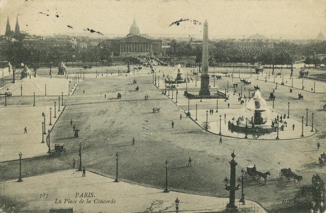 コンコルド広場 1900年初期